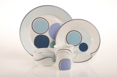 4-Piece Portion Control Place Setting