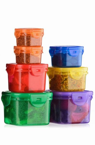 7-Piece Portion Control Containers