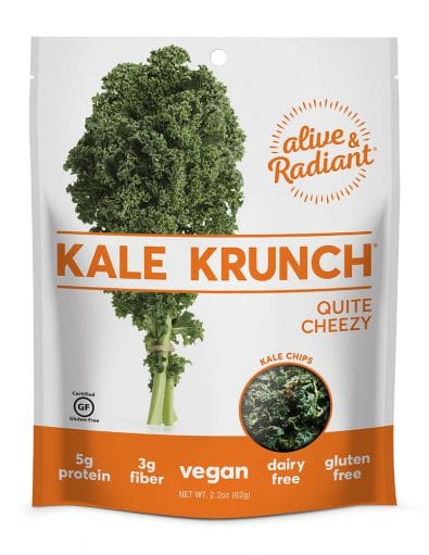 Kale Krunch Quite Cheezy
