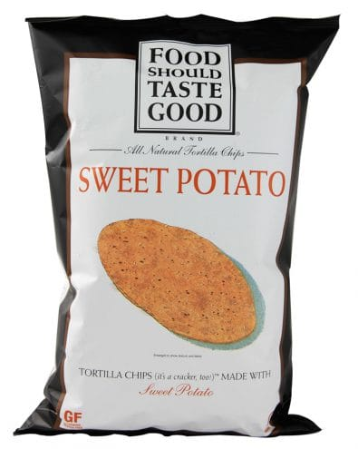 Sweet Potato Tortilla Chips Gluten Free