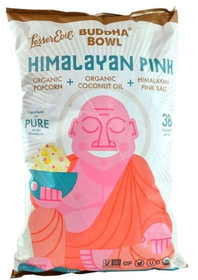 Organic Popcorn Himalayan Pink