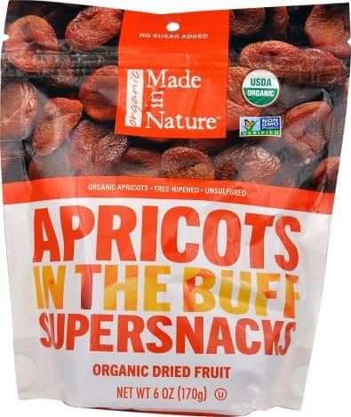 Organic Tree Ripened Apricots