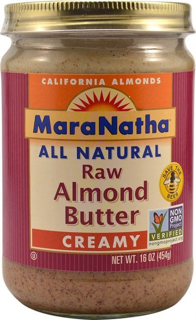 Natural Raw Almond Butter