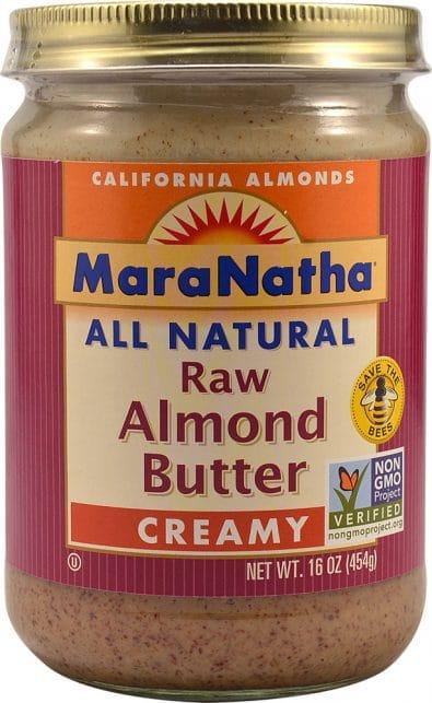 Natural Raw Almond Butter