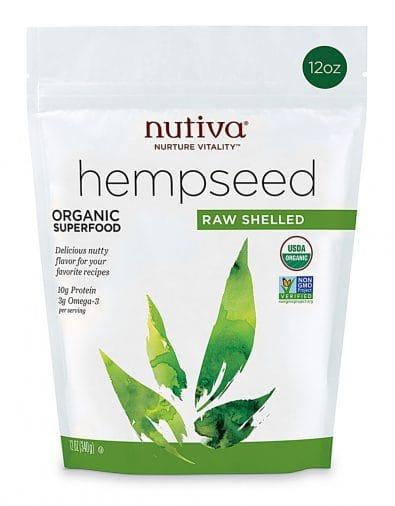 Organic Raw Shelled Hempseed
