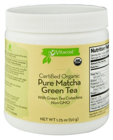 Organic Pure Matcha Green Tea Powder
