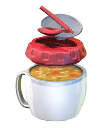 Easy Heat Soup Container with Spoon
