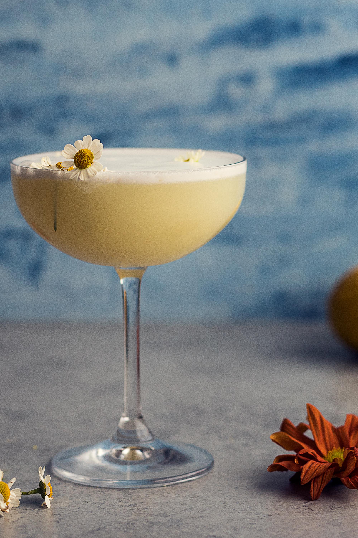 chamomile gin sour pin