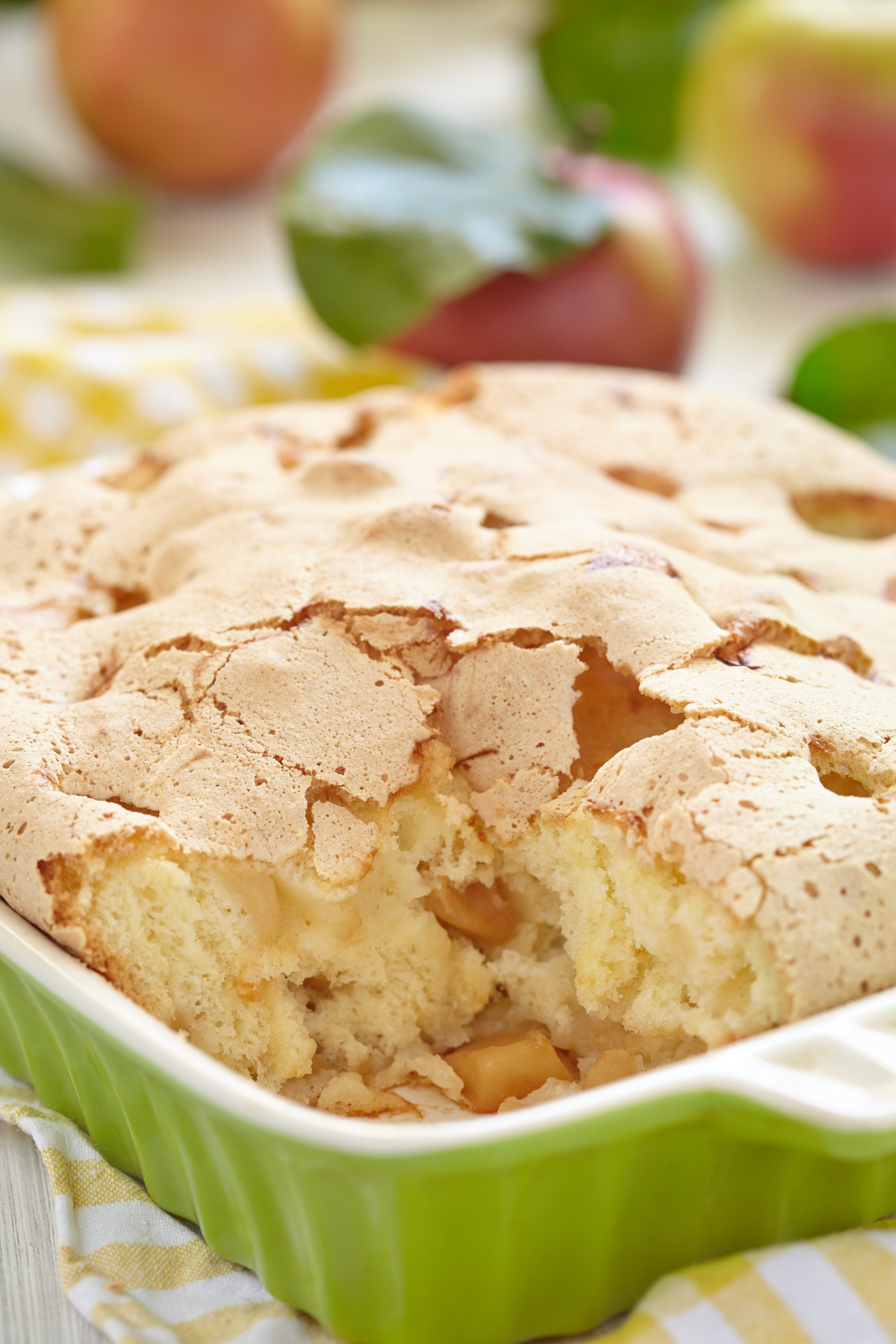 skinny apple cake pin