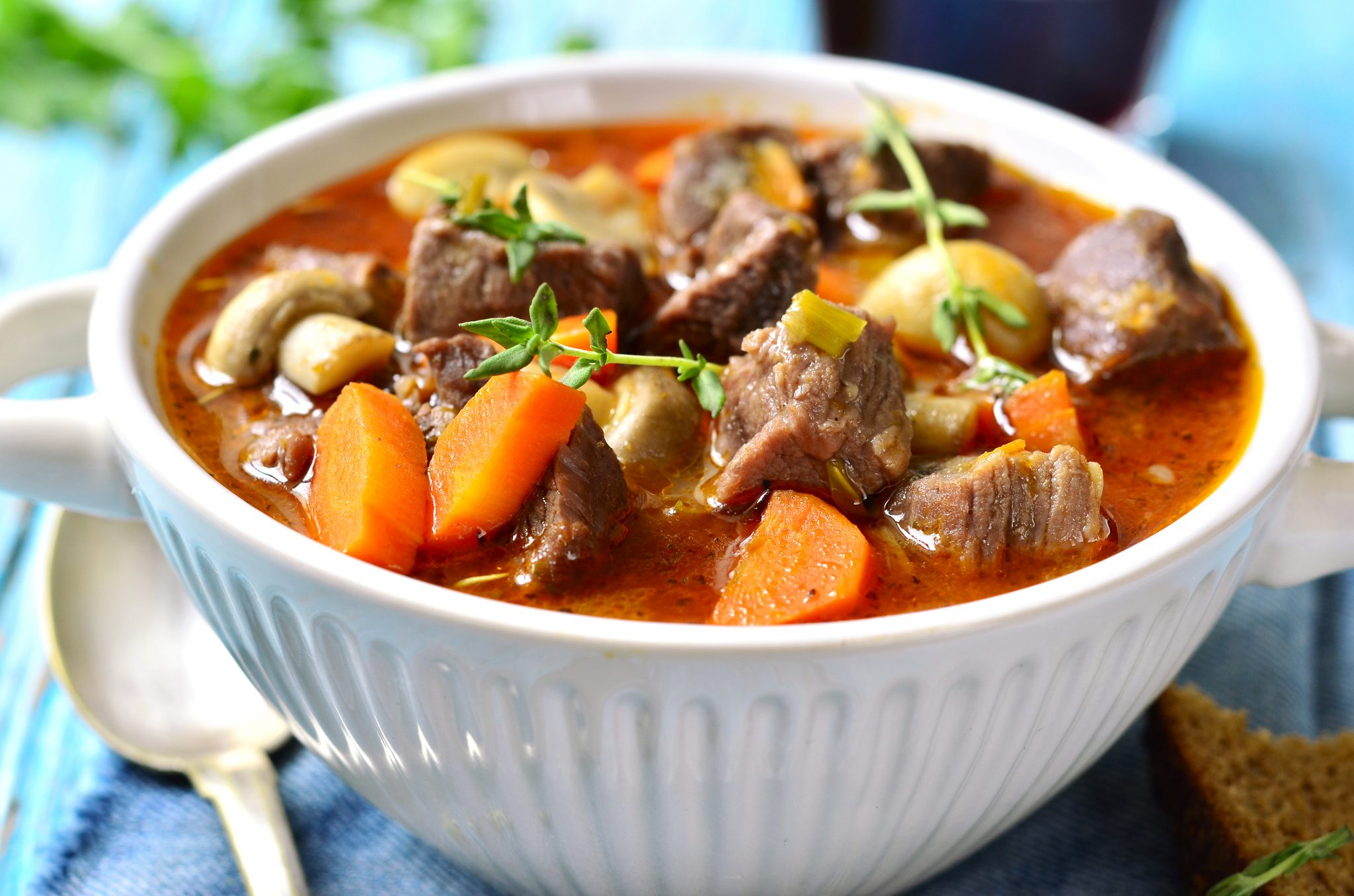 Crock Pot Provencal Beef Stew Slenderberry