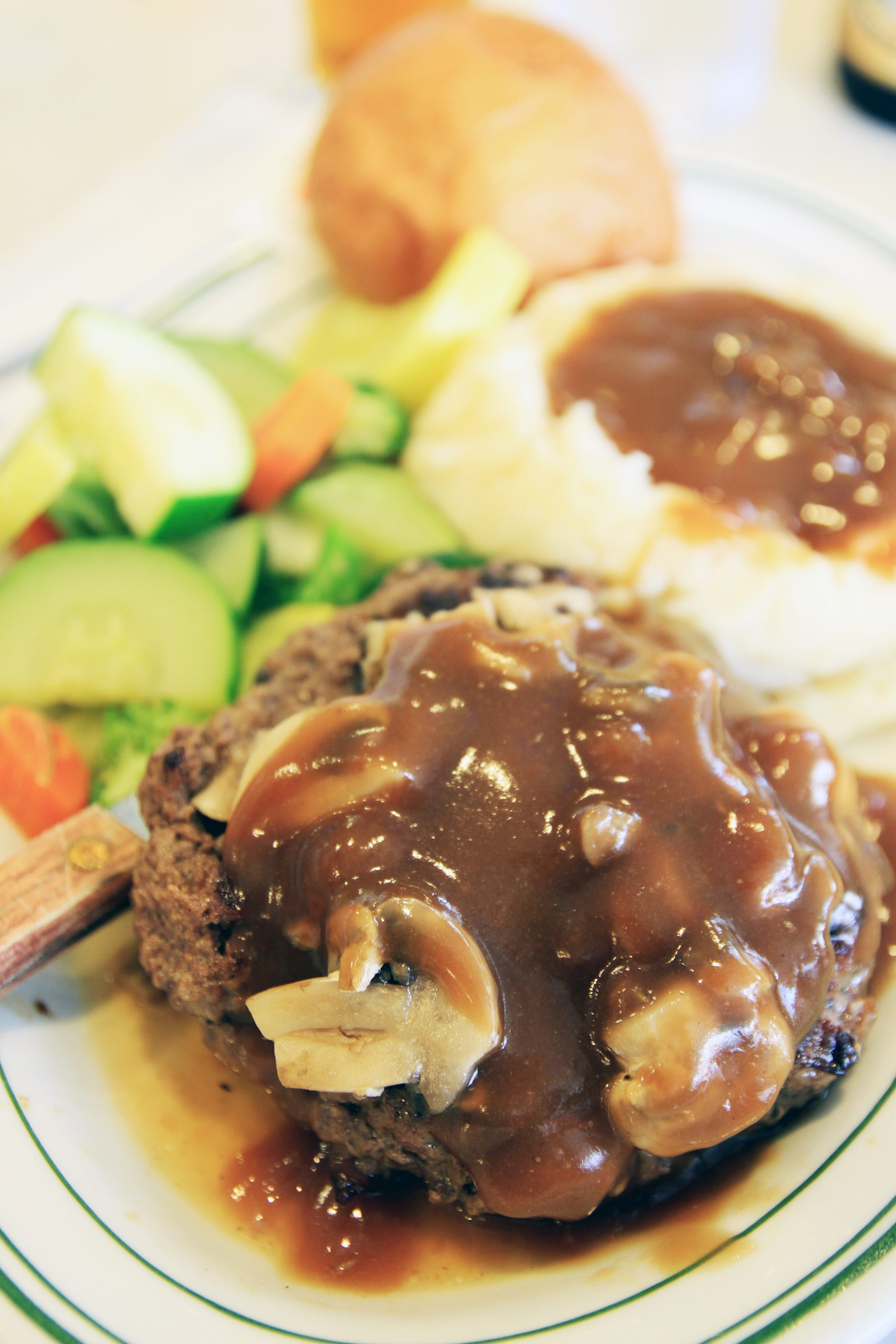 Easy Salisbury Steak pin