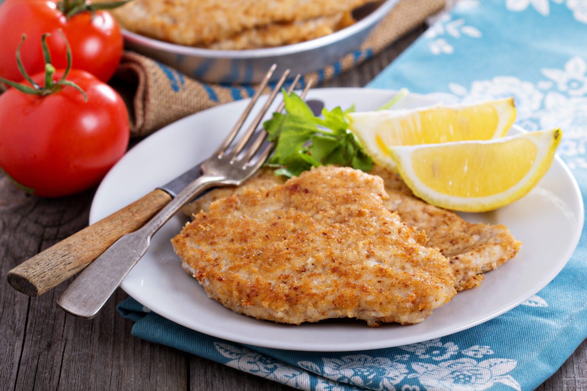 Parmesan Chicken Cutlets - Slenderberry