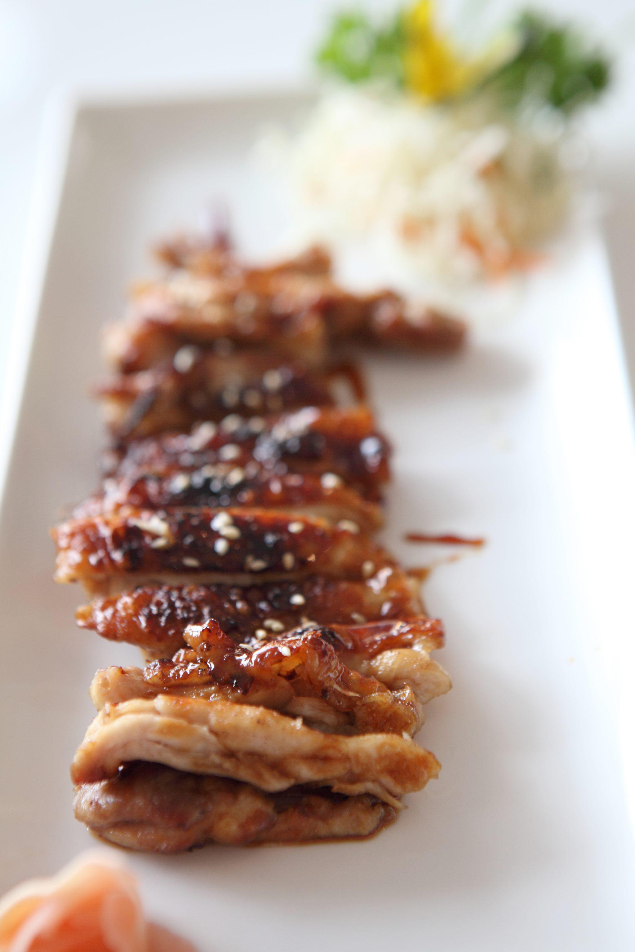 Teriyaki Sticky Chicken pin