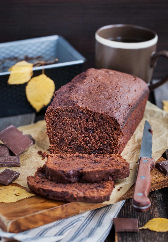 Skinny Dark Chocolate Zucchini Bread - Slenderberry