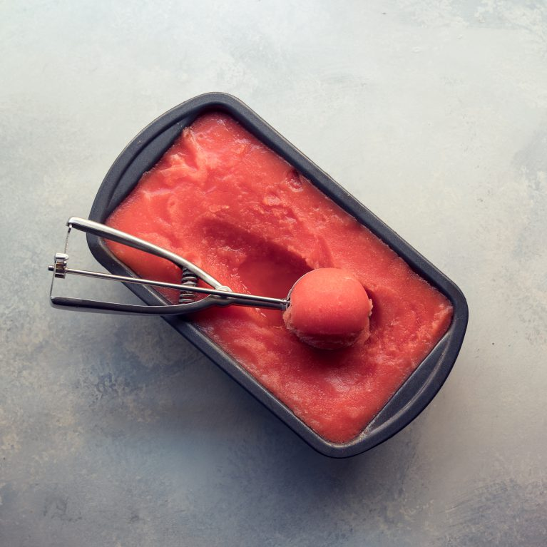 One-Ingredient Watermelon Sorbet